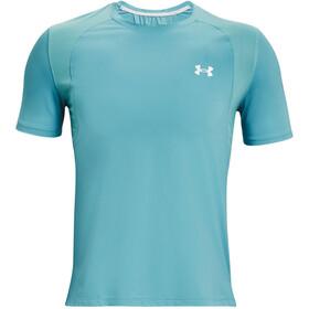 Under Armour Isochill Run 200 Short Sleeve Shirt Men, petrol